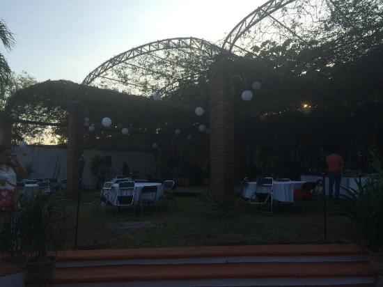 Guiexhoba Hotel : Jardín de eventos