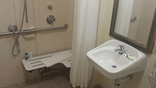 Holiday Inn Express Venice/Sarasota: Holiday Inn Express Venice FL.  ADA bathroom very nice with exception of lack of counter space.