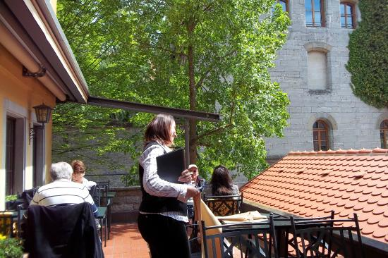 Klosterstüble: la terraza