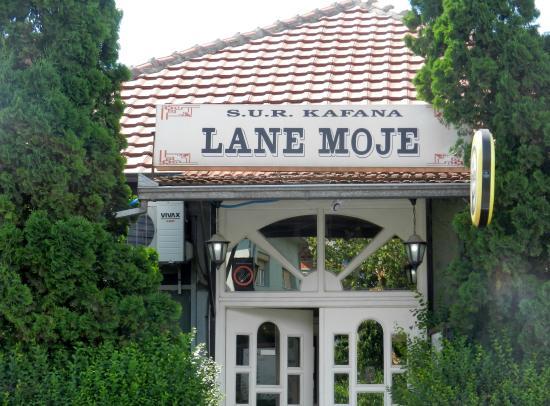 Pirot, Serbien: The front entrance of Lane Moje