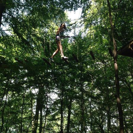 Velbert, Jerman: Climbing fun