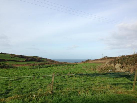 Zennor Chapel Guesthouse: View from carpark