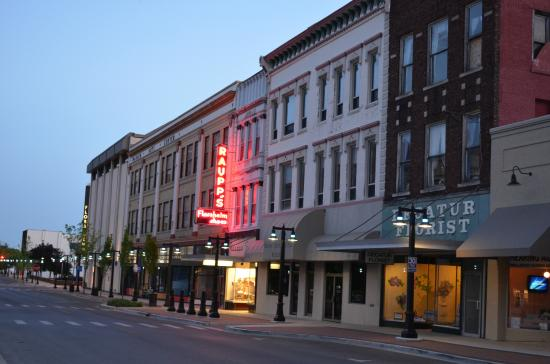 Downtown Decatur Illinois Restaurants