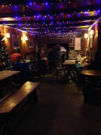The Tinners Arms: Christmas lights and open fire