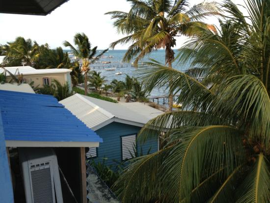Anchorage Beach Resort: View from our room, Hotel Anchorage