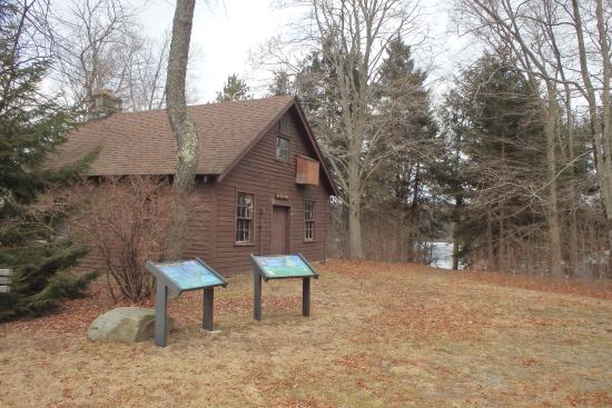 Promised Land State Park: Offices at the park