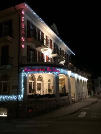 Regina Hotel: Вечером на Рождество