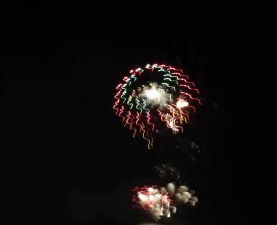 Alba Hills Guest House: The fireworks