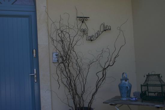 Maison Olea : Porte d'entrée