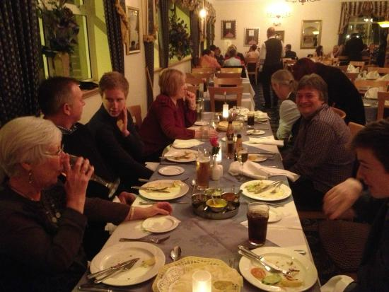 The Days of the Raj: Family & Friends Celebratory Meal