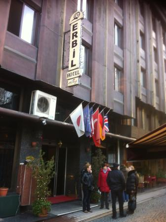 Erbil Hotel: Вход в отель Erbil