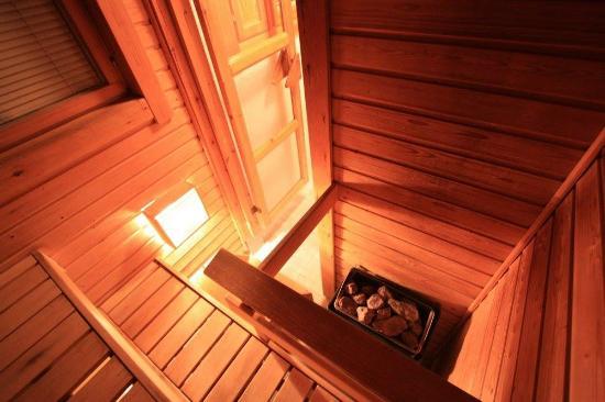 Ounasloma Luxury Cabins: sauna