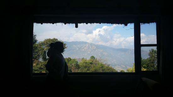 Dhulikhel Mountain Resort: View from the room