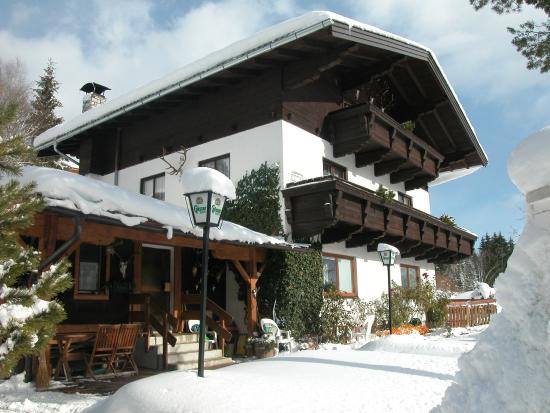 Muehlbach im Pinzgau, Austria: Front View
