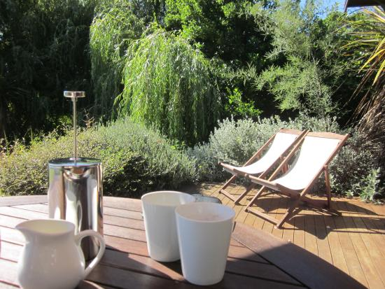 Adrift in Golden Bay: Coffee on the deck