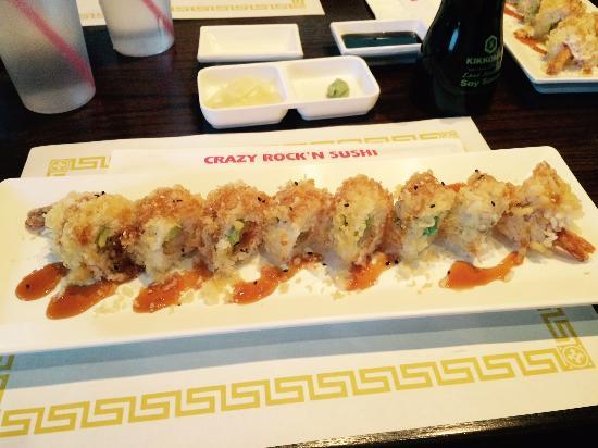Crazy Rock N Sushi : Crunchy Shrimp Role