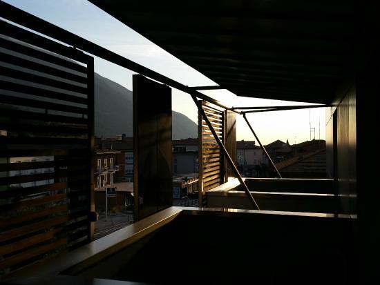 Hotel Caravel: Aussicht vom Balkon Richtung See