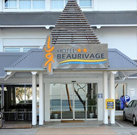 Hotel Beaurivage: Entrée