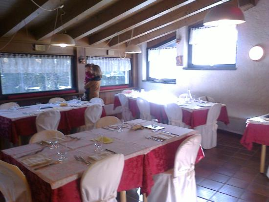 Hotel Il Catturanino: Sala da pranzo.
