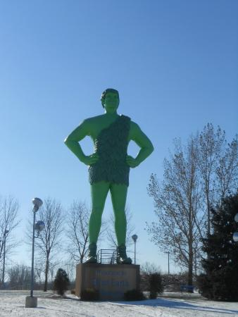Green Giant Statue Park: Jolly Green Giant