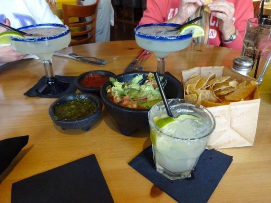 Cabo Wabo Cantina: margharitas, chips n dips and a salty chihuaha