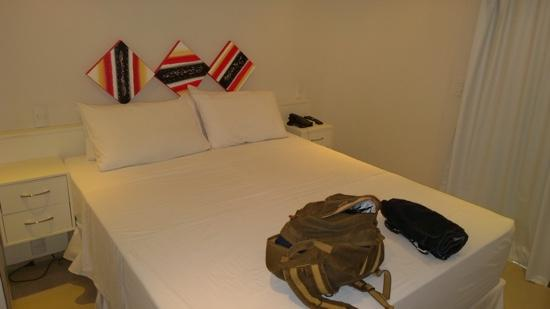 Angra Beach Hotel : Quarto