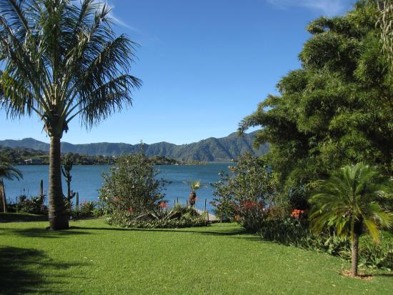 Hotel and Restaurant Bambu: View from the gardens