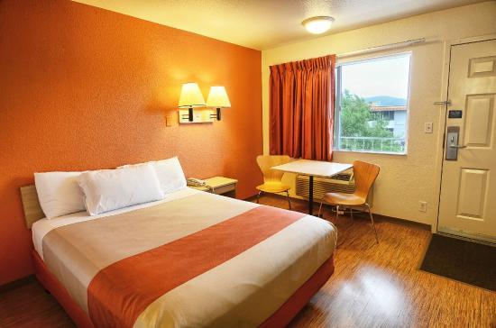 Motel 6 Coeur D'Alene: Guest Room