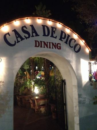 Casa De Pico: Great place for fun Mexican food