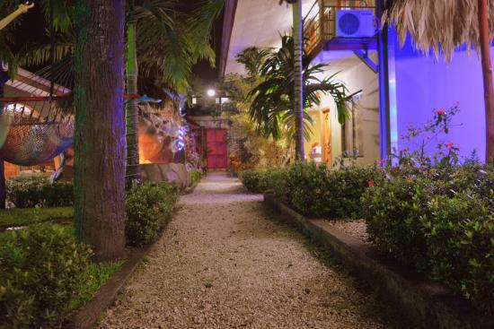 Hostel Backpackers La Fortuna: Gardens