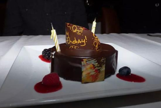 New York Marriott Marquis Surprise Birthday Cake At The View