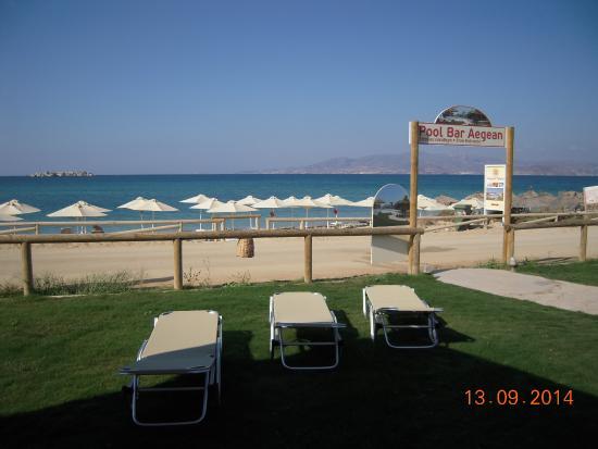 Aegean Land: view from beach club