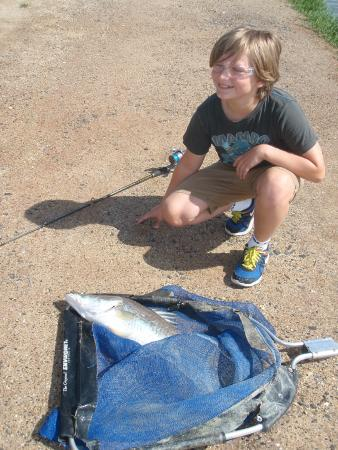 Hook-A-Barra: Catch of the day!