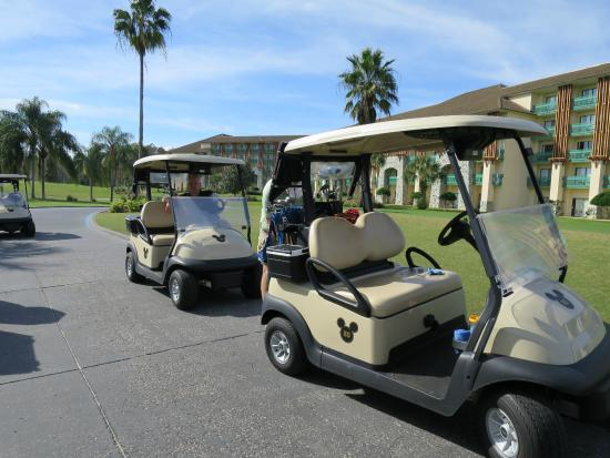 Disney Where Can I Travel With A Golf Cart