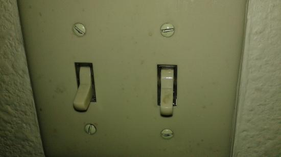 Ramada Tempe Near ASU: all light switches were gross