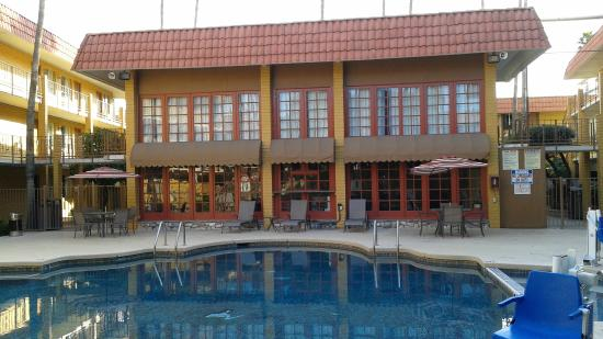 Ramada Tempe Near ASU: pool area looked nice