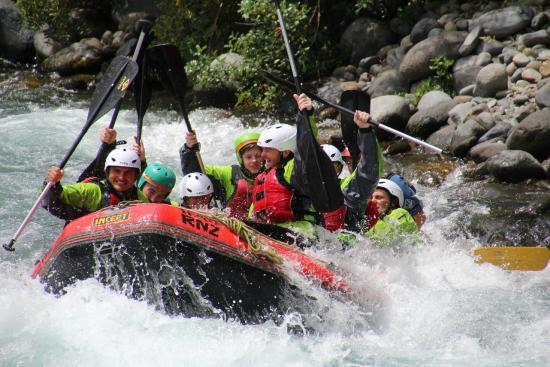 Rafting New Zealand: Craigs Team