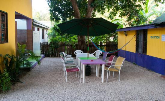 Hostel Matilori: Garten