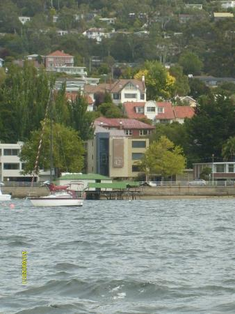 Motel 429: Picture from the boat on the River Derwent