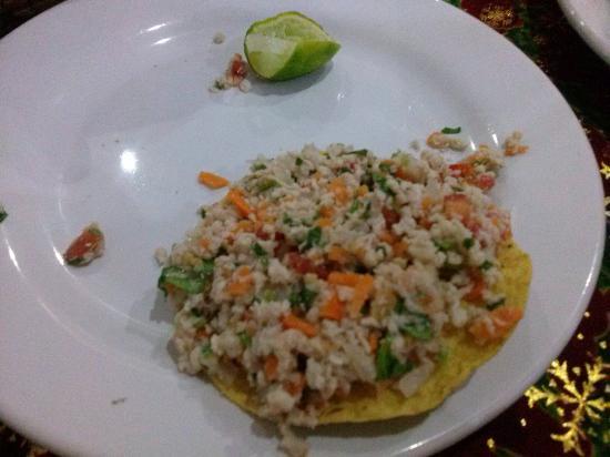 Rio Grande : Tostadas de ceviche de pescado
