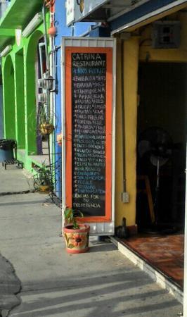 Catrina Restaurant: Cardápio