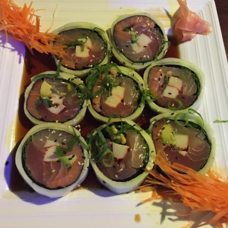Sushi Los Amigos: My non rice sushi roll!