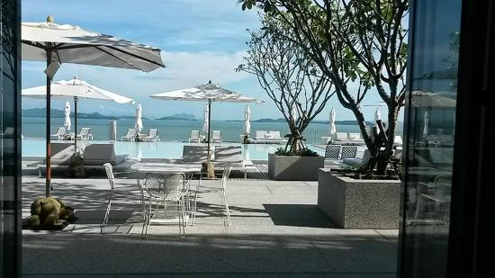 Pa Khlok, Thailand: Breakfast view