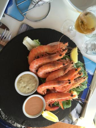 Slipway on Wallis: King Prawns