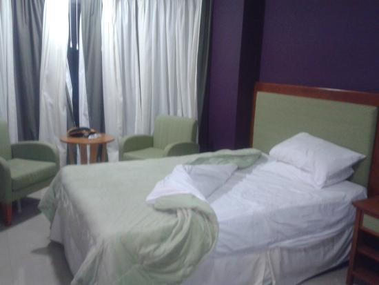 Hotel tropical.