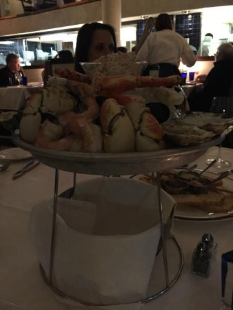 Blue Point Grille: Seafood Tower!
