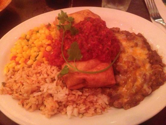 Gina's Mexican Cafe : Chimichangas