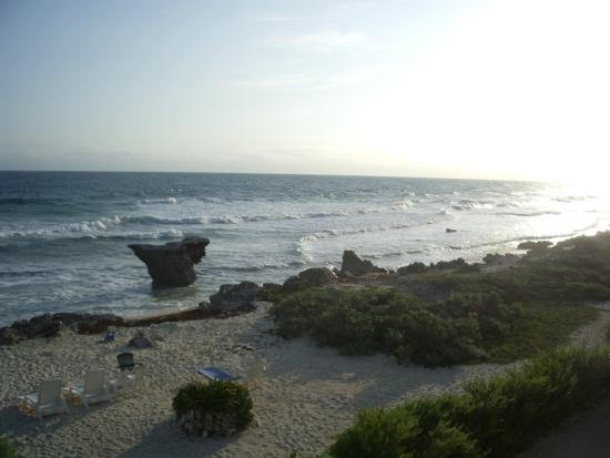 Punta Piedra: view from room