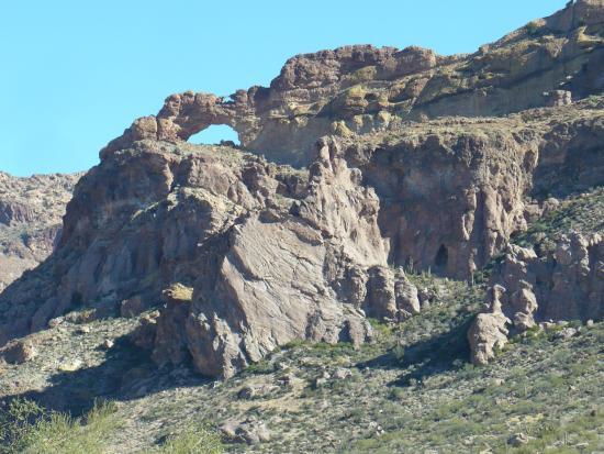 Ajo Mountain Drive: Arch Canyon
