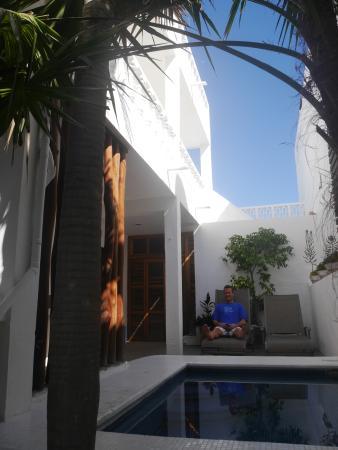 Casa el Pio: In the small, central courtyard